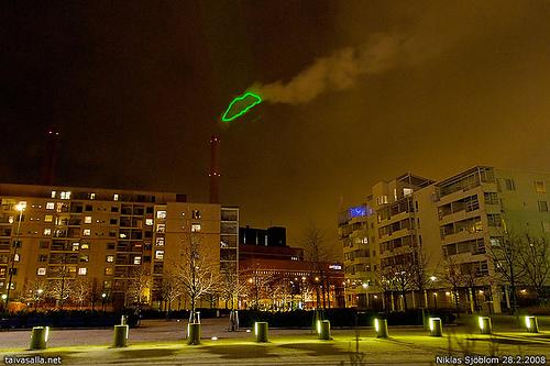 Image of Nuage Vert by HeHe, taken by Niklas Sjöblom